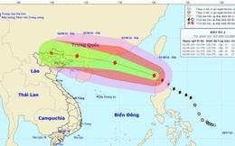 Bão Nida đã đi vào Biển Đông, trở thành cơn bão số 2