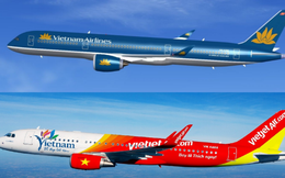 Vietjet tiếp tục giật thị phần nội địa của Vietnam Airlines