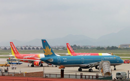 31 tàu bay VietJet chiếm 37% thị phần, Vietnam Airlines có 88 tàu bay thị phần chưa tới 50%