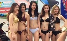 Phạt siêu thị để nhân viên mặc bikini bán hàng 40 triệu đồng