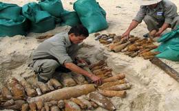 Vẫn còn 800.000 tấn bom đạn đang rải rác ở Việt Nam sau chiến tranh