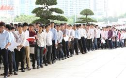 Gần 6.000 sinh viên tham dự kỳ thi tuyển dụng của Samsung