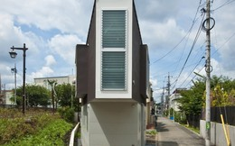 Căn nhà diện tích chỉ 55m2 nhưng mang lại cảm giác rộng rãi như dinh thự của kiến trúc sư Nhật Bản