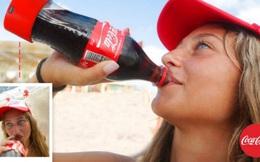 Coca-Cola sản xuất chai nước ngọt có khả năng chụp selfie