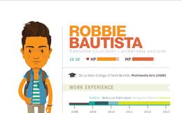 Cùng chiêm ngưỡng mẫu CV tuyệt đẹp này để thấy được sức sáng tạo vô bờ của các designer