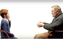 Cuộc trò chuyện xúc động về cuộc sống giữa một cậu bé 7 tuổi và người đàn ông 64 tuổi
