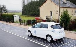 Khai trương con đường bằng pin mặt trời đầu tiên trên thế giới