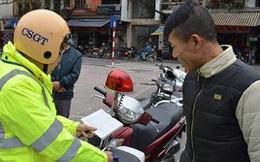 Hà Nội xử phạt 542 trường hợp đi bộ vi phạm luật giao thông
