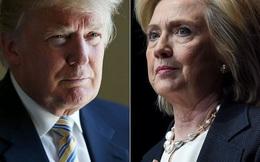 Donald Trump đã đuổi kịp bà Hillary trong cuộc đua vào Nhà Trắng