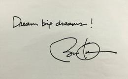 Đối thoại của ông Obama với cộng đồng doanh nhân trẻ Việt Nam: Hãy mơ những giấc mơ lớn