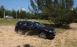 Lội nước, vượt cát với Nissan X-Trail