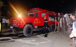Hàng trăm cảnh sát dập tắt đám cháy lớn thiệt hại hàng tỉ đồng ở Quảng Nam