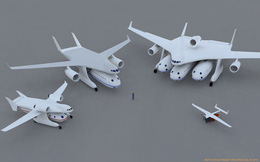 """Dự án máy bay """"điên rồ"""" này dự tính mở ra tương lai mới cho phép chở con người như hàng hóa"""