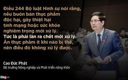 Những phát ngôn ấn tượng trong Quốc hội khóa XIII