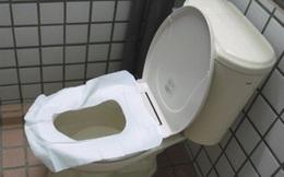 Đừng lót giấy khi đến nhà vệ sinh công cộng nữa, cũng chỉ vô dụng thôi!