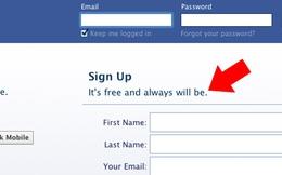 Cái giá phải trả cho sự miễn phí của Facebook
