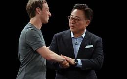 'Cái bắt tay lịch sử' giữa Samsung và Facebook