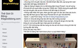 Giả danh Thế Giới Di Động, bán iPhone 5S giá 100 ngàn đồng