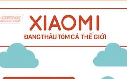 Bức hình sau sẽ cho bạn thấy hệ sinh thái khổng lồ của Xiaomi đang thâu tóm cả thế giới