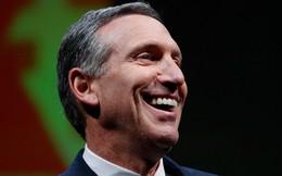 """Howard Schultz - """"Linh hồn"""" của Starbucks sẽ rời ghế CEO từ tháng 4 năm sau"""