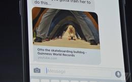 iMessage đã lột xác hoàn toàn để trở thành một ứng dụng nhắn tin ngang ngửa với Facebook Messenger