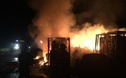 Cháy Nhà máy thép ngàn tỷ bỏ hoang ở Vũng Áng