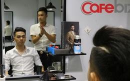 Thời công nghệ luồn lách mọi ngõ ngách, đi cắt tóc ở Hà Nội cũng đặt chỗ, đánh giá hiện đại chẳng kém gì Uber