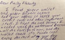 """Người đàn ông đánh rơi ví tiền, bất ngờ nhận được '""""tâm thư"""" kỳ lạ thay cho chiếc ví"""