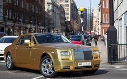 Nhà giàu Ảrập chở cả dàn siêu xe mạ vàng đến London