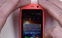 Cùng chiêm ngưỡng chiếc điện thoại Android nhỏ nhất thế giới