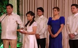 """Lễ nhậm chức """"lạ"""" của tân tổng thống Philippines"""