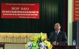 """Vì sao 8 năm trời Dự án Khu công nghiệp Cẩm Điền- Lương Điền vẫn """"tắc""""?"""