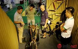 Độc đáo xe đạp bằng tre của Việt Nam được thế giới ngưỡng mộ