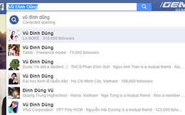 Không phải bị hack, đây mới là lý do Facebooker Việt bị đổi tên thành Vũ Đình Dũng