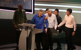 Thủ tướng Singapore phải tạm dừng đọc diễn văn vì bị choáng
