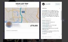 Mất gần 800 ngàn đồng đi Uber từ Hà Nội ra Nội Bài, ca sĩ Tóc Tiên kêu trời