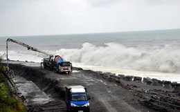 Đài Loan tan hoang như tận thế trong siêu bão Meranti