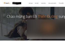 Trang web sex có hơn 10.000 thành viên ngang nhiên tồn tại