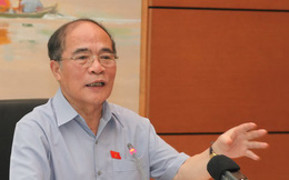 """Chủ tịch Quốc hội Nguyễn Sinh Hùng:""""Mở mồm ra"""" là quyền của dân"""