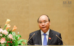 Tân Thủ tướng Nguyễn Xuân Phúc đọc lời tuyên thệ