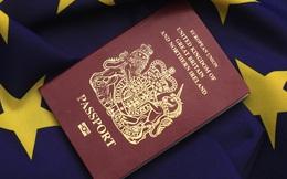 """Hộ chiếu Anh sẽ mất ngôi vị """"quyền lực"""" trên thế giới khi Anh rời khỏi EU"""