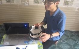 Học sinh Huế chế tạo mũ bảo hiểm thông minh ngăn ngừa tai nạn giao thông