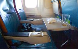 Bạn sẽ giật mình khi biết nơi bẩn nhất trên máy bay không phải là bồn cầu, mà là ngay trước mặt bạn