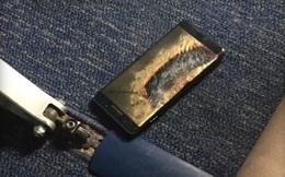 Đổi pin mới rồi, Galaxy Note7 vẫn bốc cháy ngay trên máy bay