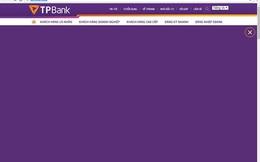 """Website của Ngân hàng Tiên Phong bị """"tê liệt,"""" nghi bị hack?"""