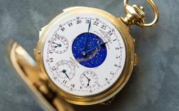 Bỏ ra 50 siêu xe Rolls Royce Phantom cũng chẳng mua được đồng hồ cổ siêu phức tạp Henry Graves Supercomplication này