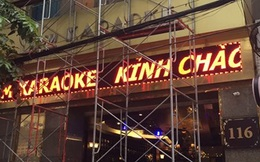 """""""Trắng"""" biển quảng cáo karaoke trên nhiều tuyến phố"""