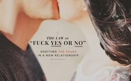 Thuyết Không phân vân: Quy tắc hẹn hò trong trò chơi tình ái