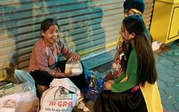 Người vô gia cư bất ngờ nhận quà của chị Hằng, chú Cuội giữa đêm khuya