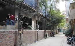 Hà Nội yêu cầu kiểm tra dự án xây bể phốt gần bằng tầng 1